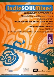 Indie Soul Mixer Atlanta