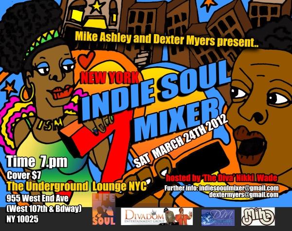 indie soul mixer nyc2012