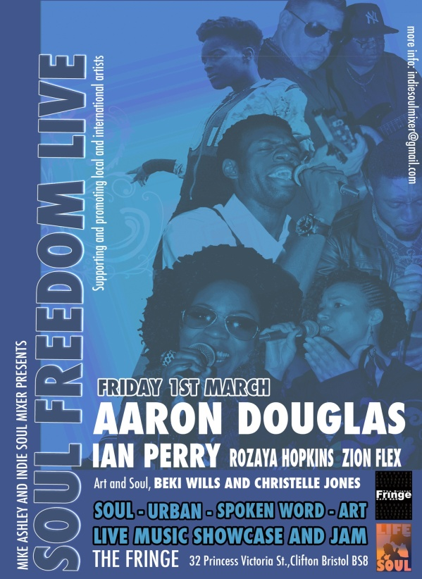 Soul Freedom Live - Bristol Fringe - March 1