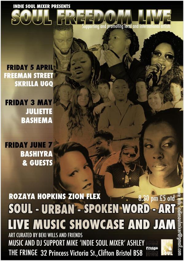 Soul Freedom Live at Fringe Bristol